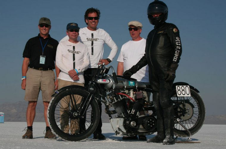 brough superior speed record