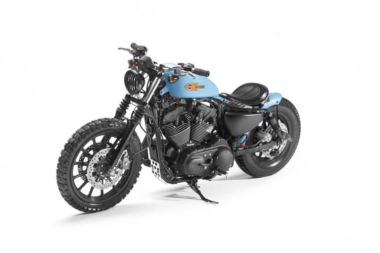 Sporster XL1200 R by Shaw Speed & Custom