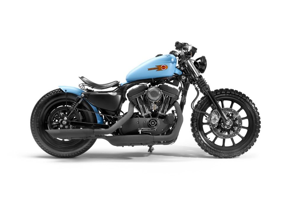 Sportster XL 1200 R par Shaw Speed & Custom