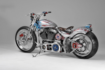 shaw speed shop & custom fat boy