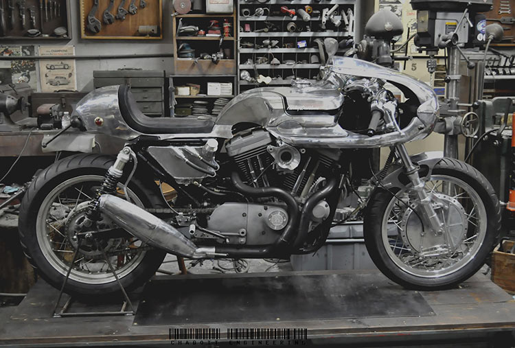 harley sportster by chabott engineering