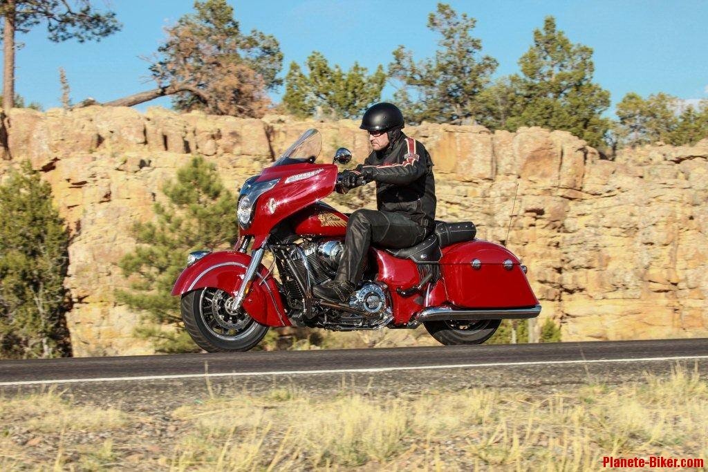 indian chieftain bagger