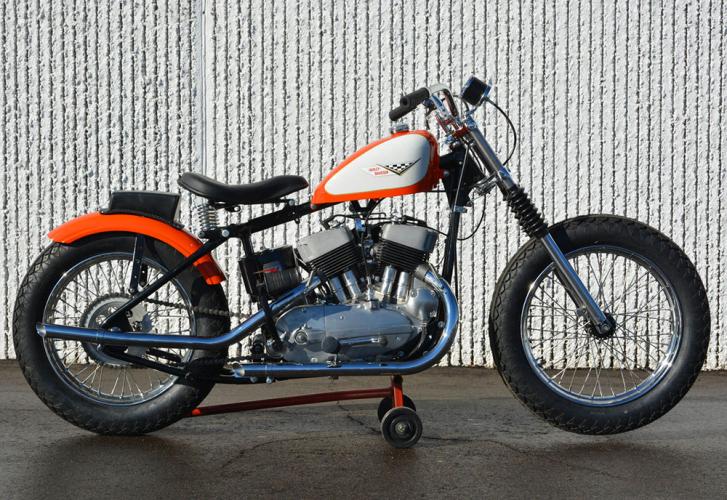 flat tracker KR 750 Harley-Davidson