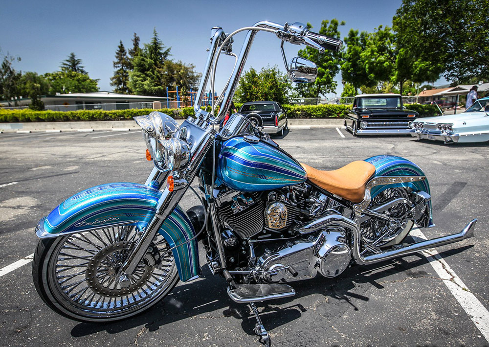 Harley Chicano Style Softail