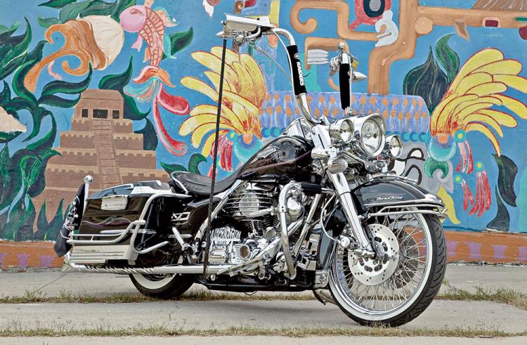 Harley-Davidson Chicano Style