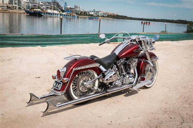 Harley-Davidson softail custom
