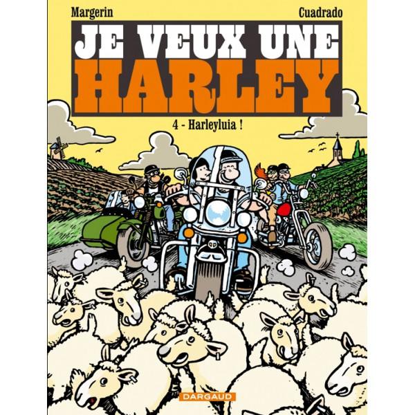 livre BD je veux une harley
