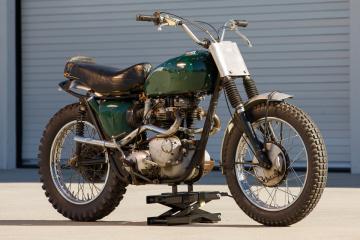 Triumph Bonneville Steve McQueen