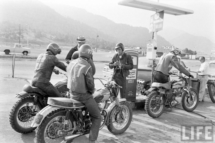steve mcqueen moto off road