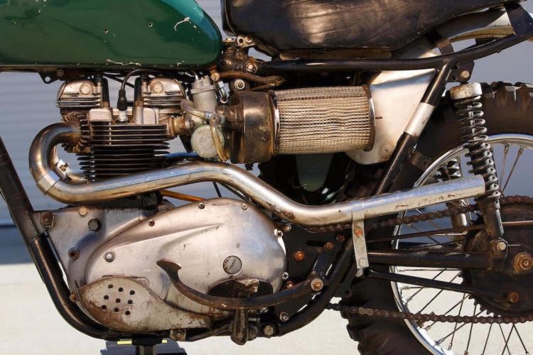 Triumph Bonneville Ex Steve McQueen