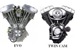 le Twin Cam 88 face au 1340 EVo