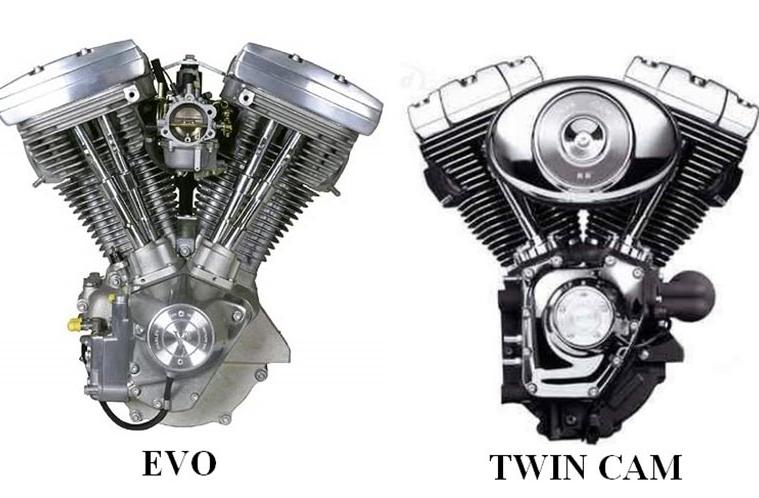 le Twin Cam 88 face au 1340 EVo