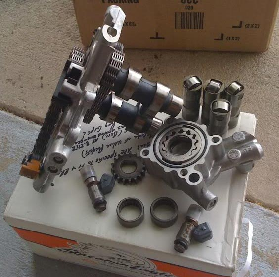 TC88 pump Cams gear