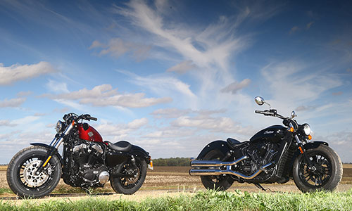 forty eight vs indian scout 60