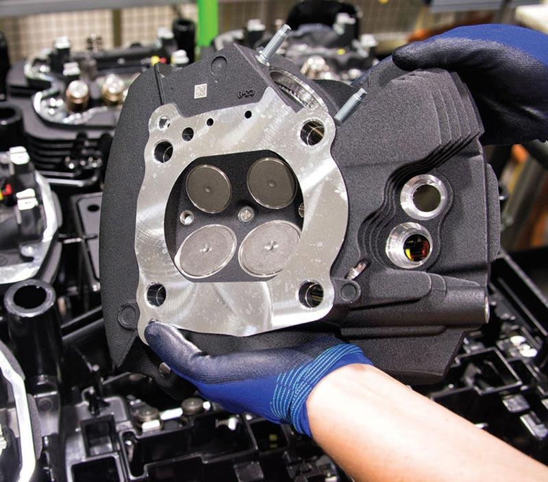 milwaukee eight moteur
