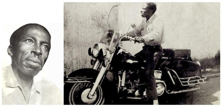 Ben Hardy motorcycle builder