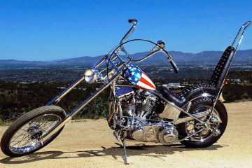 captain america chopper easy rider film
