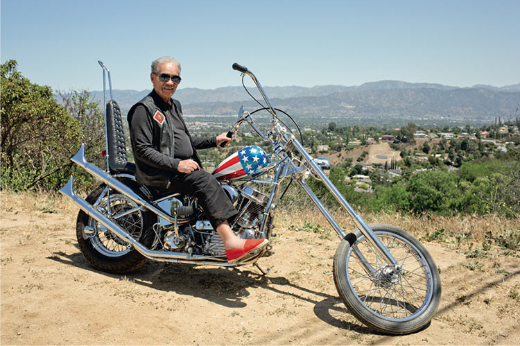 easy rider movie : captain america bike