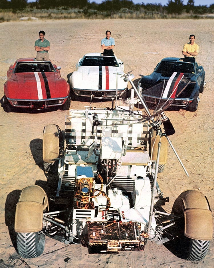 GM corvette et NASA