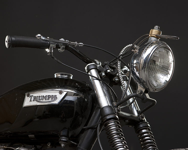 triumph old school custom