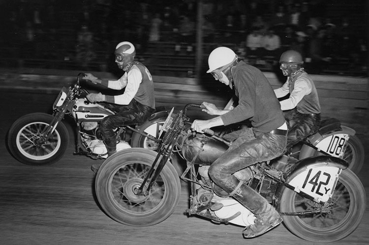 harley WR 750 racer