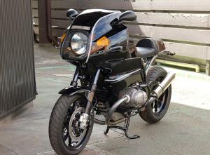 BMW RT100S préparé café racer
