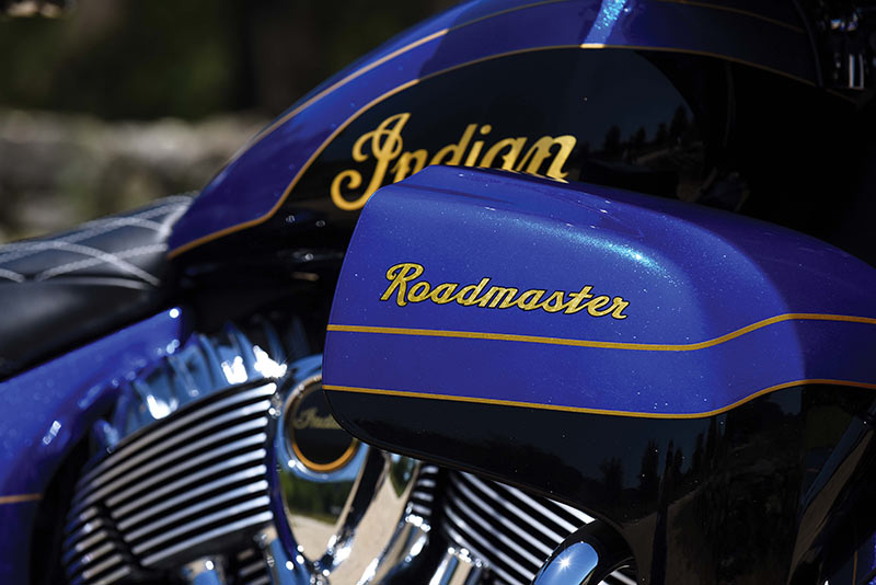 Roadmaster Elite detail