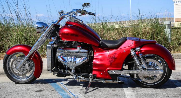 moto v8 boss hog import