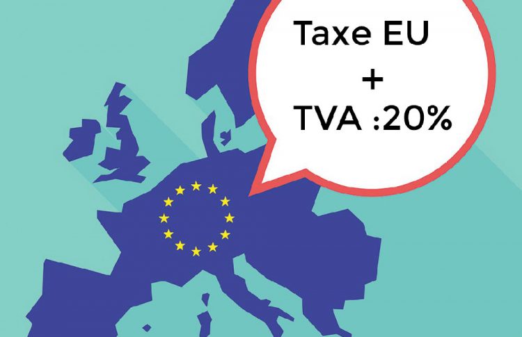 taxe import auto moto usa vers europe