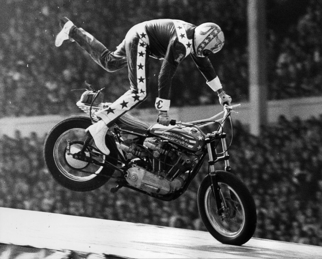 xr 750 knivel wembley