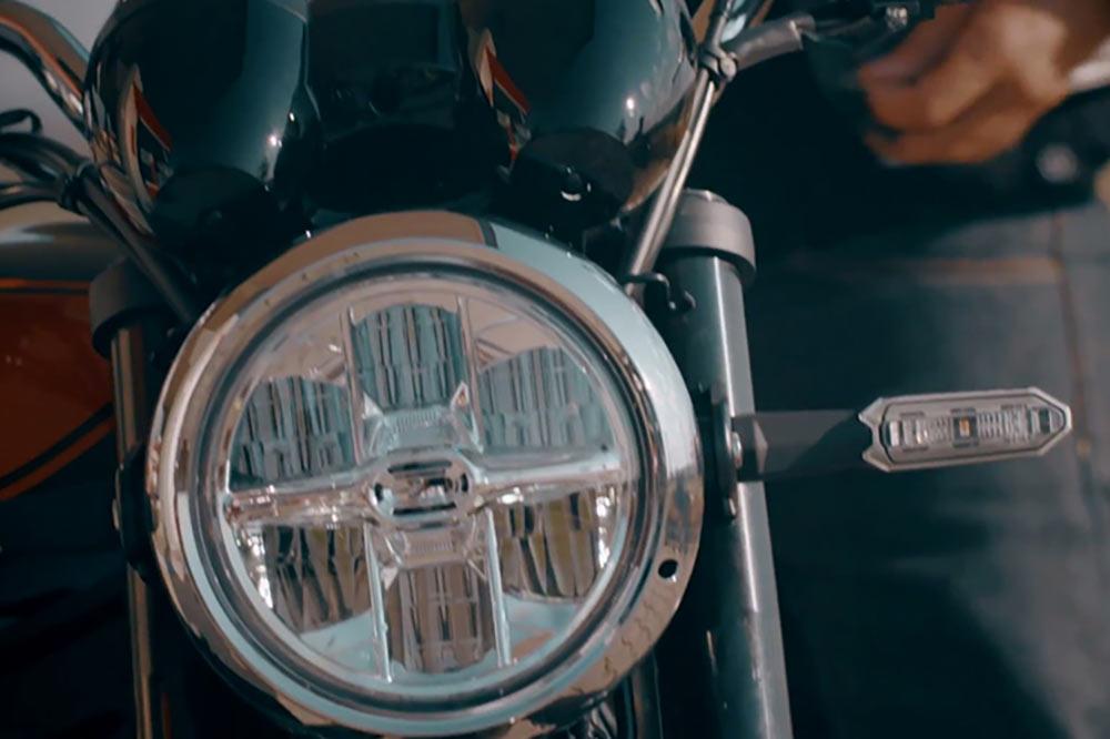 phare leds moto