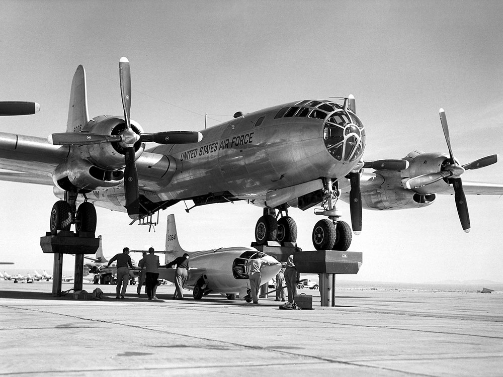 record de vitesse avion 1947