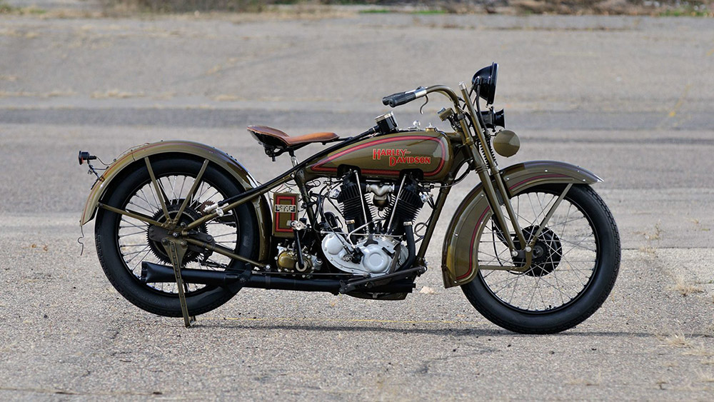 Harley davidson 1929 JDH two cams