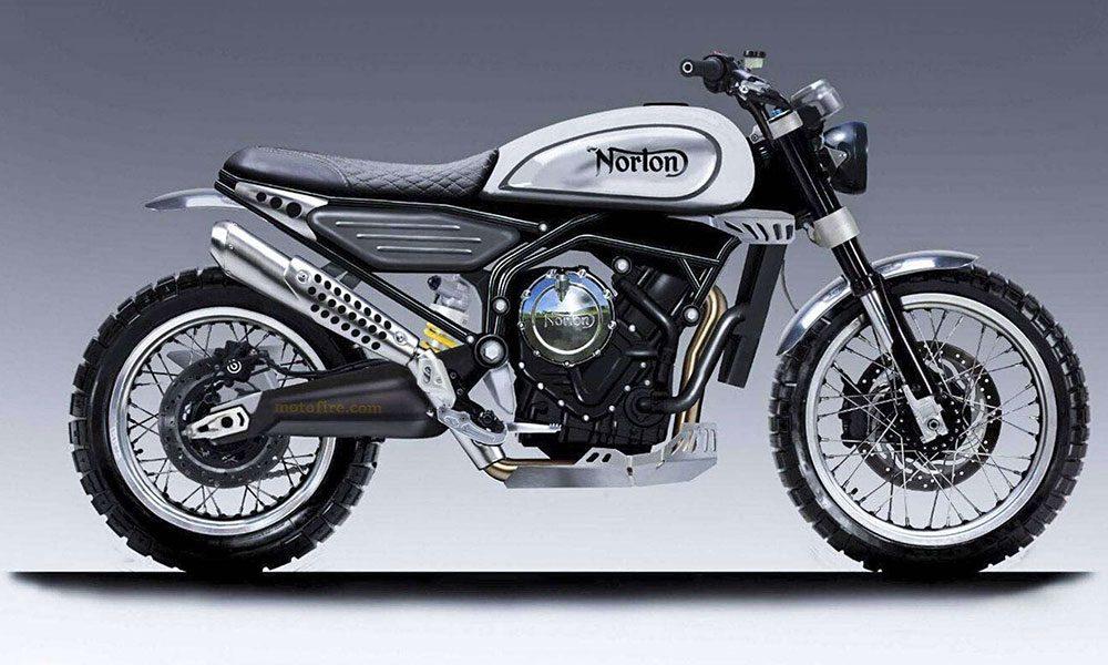 norton 650 scrambler concept