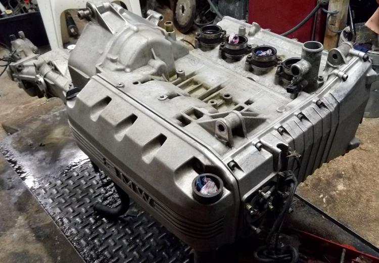 BMW K100 4 cylindres