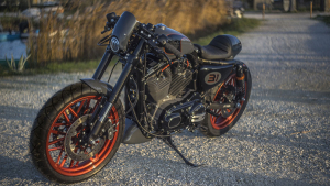 sportster 1200 roadster dark custom