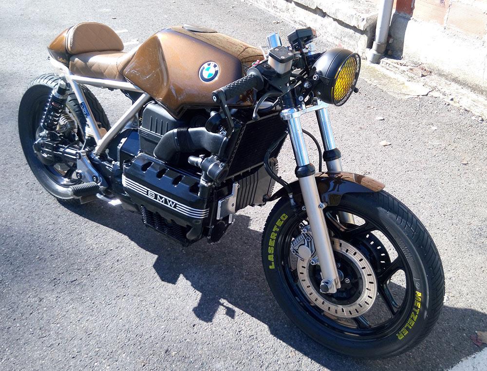 cafe racer k100 id es d 39 image de moto. Black Bedroom Furniture Sets. Home Design Ideas