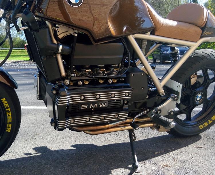 4 cylindres bmw K100