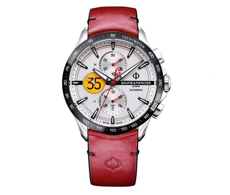 montre baume &mercier motorcycle