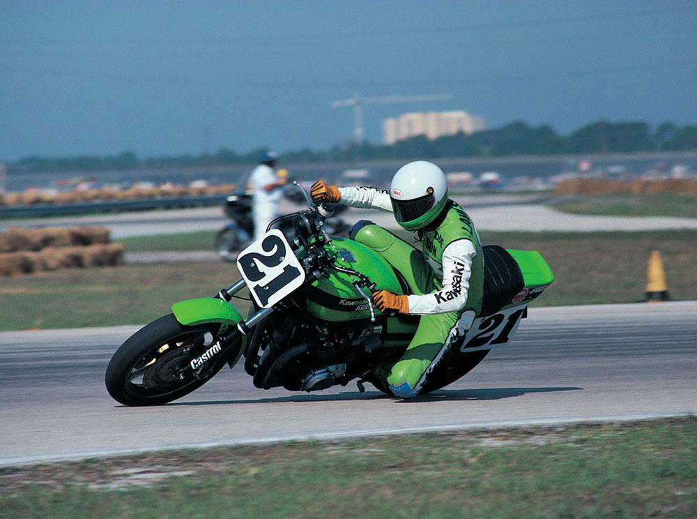 Kawasaki Z1000 eddie Lawson