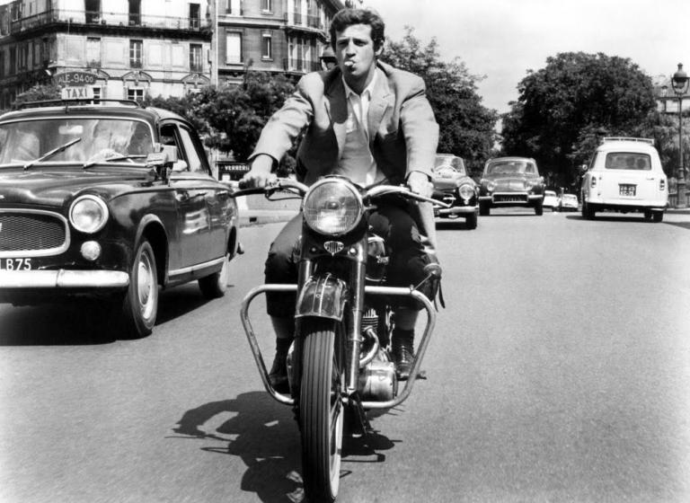 cinéma et moto
