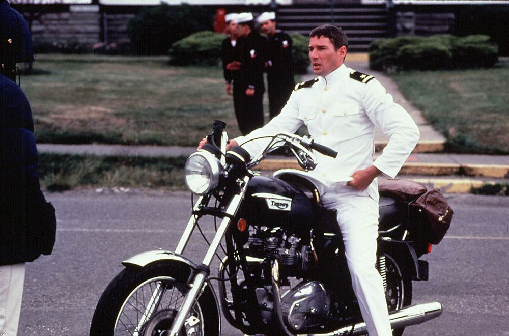 richard gere triumph 750