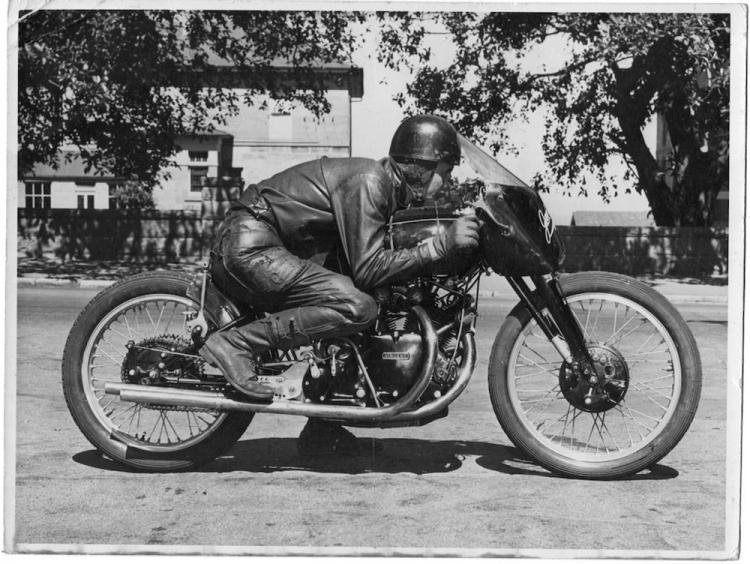 vincent racer moto