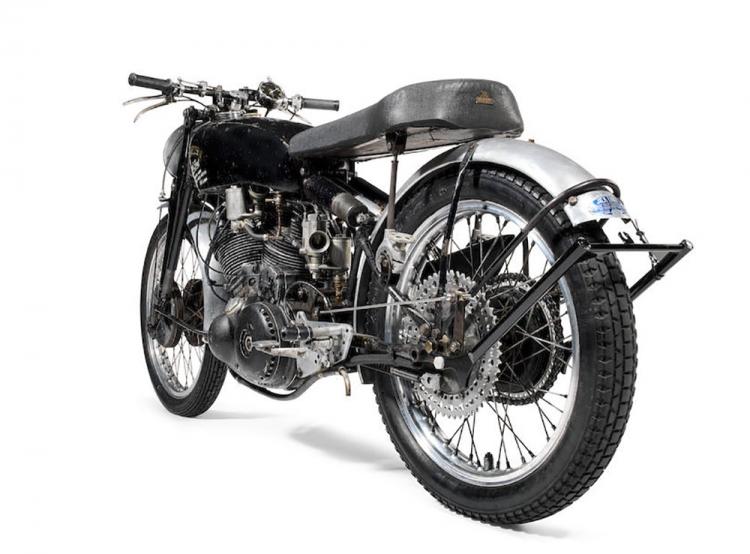 vincent : moto de record
