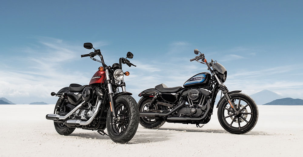 sportster iron 1200 & forty eight special 48