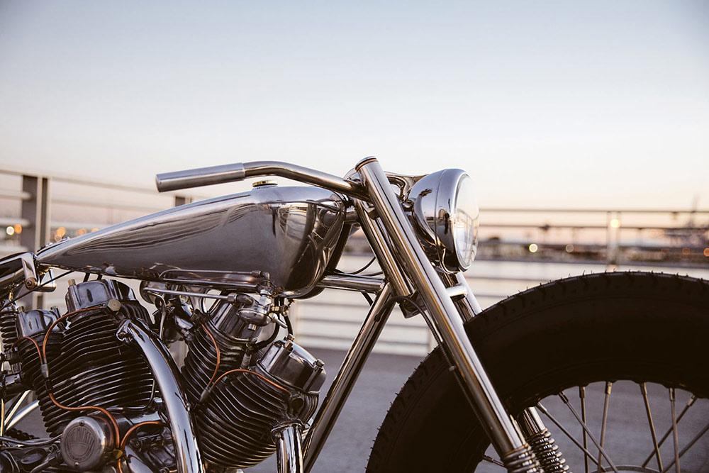 guidon bobber handlebar préparation moto