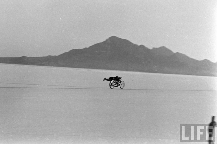 rollie free land speed record motorcycle