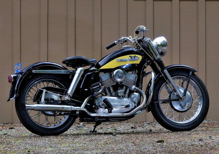 Harley Davidson modèle KH 1956