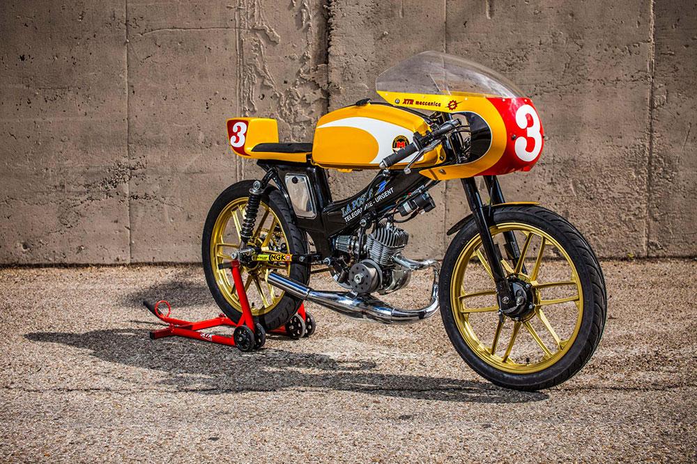 motobéécane sp-90 racing XTR Pepo