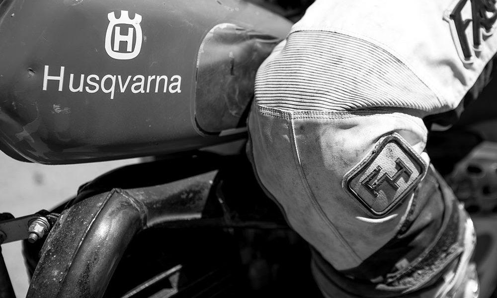 husqvarna logo tank réservoir old mx